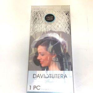 David Tutera Cream Birdcage Wedding Veil